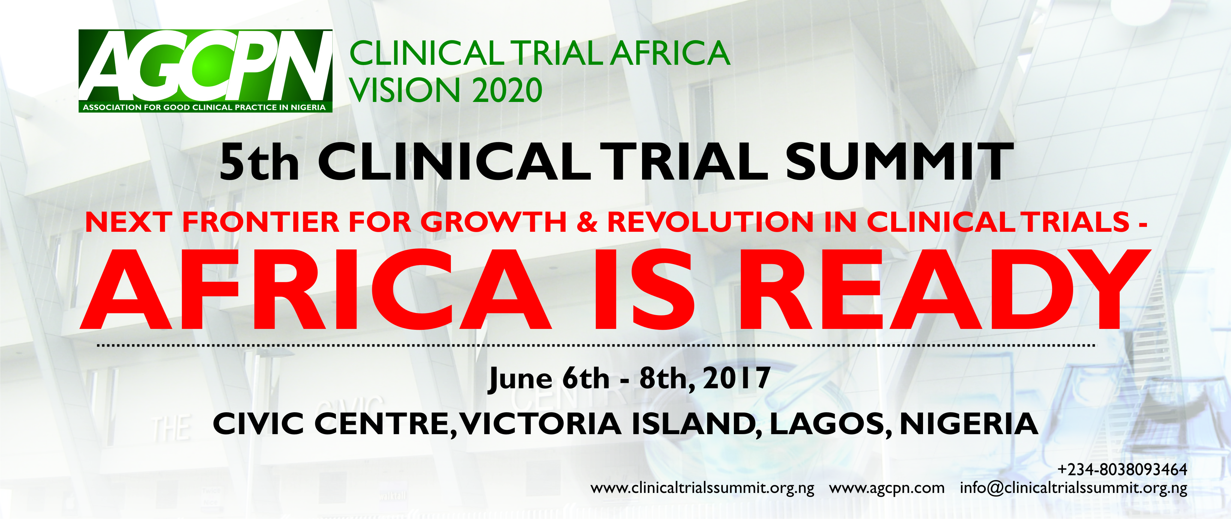 Association for Good Clinical Practice in Nigeria Holds 5th